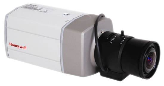 Indoor box camera with varifocal lens, available in 420TVL to 600TVL