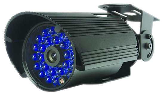 Indoor/Outdoor bullet camera, day/night with fix lens,<br>available in 420TVL to 480TVL