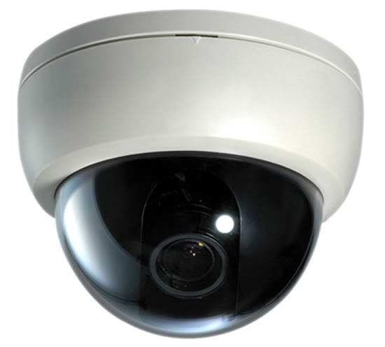 Indoor Dome Camera with fix lens, available in 420TVL to 540TVL