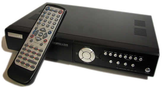 4 channel standalone DVR, MPEG or H.264, one channel audio<br>comes with remote control and internet